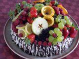Dort plný ovoce recept