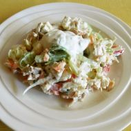 Kuřecí zeleninový salát recept