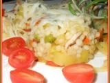 Rizoto z tarhoni a drůbežího masa recept