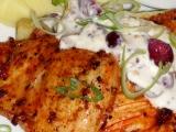 Marinovaná kuřecí prsa s brusinkovým přelivem recept ...