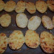 Česnekové brambory ve slupce recept