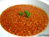 Červená polévka s pohankou recept