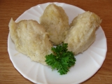 Chlupaté knedlíky ze syrových a vařených brambor  podrobně ...