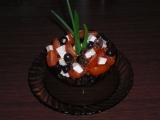 Cherry salát s balkánem recept