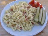 Těstoviny s vejcem recept