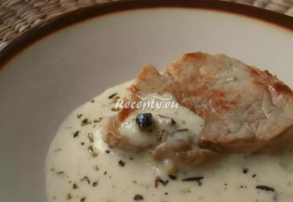 Vepřová panenka s pepřovo-bylinkovou omáčkou recept  vepřové ...