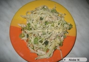 Brokolicové těstoviny