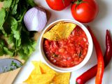 Rajčatová salsa s koriandrem recept