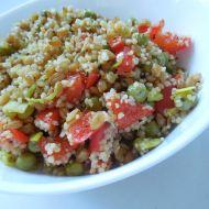 Zeleninový kuskus s jednozrnkou recept