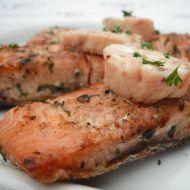 Lososové steaky na grilu recept