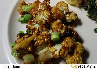 Květák v kořeněné medové omáčce recept