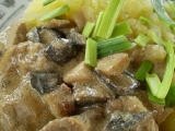 Pikantní vepřové s houbami recept