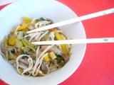 Hlíva ústřičná v čínském karamelu recept