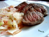 Rump steak v bylinkách recept
