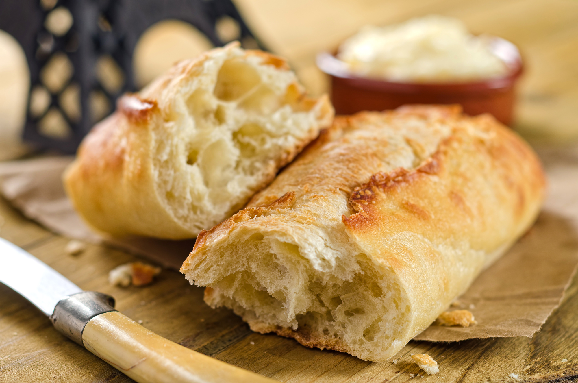Francouzská bageta recept