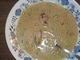 Krémová houbová polévka (maďarská) recept