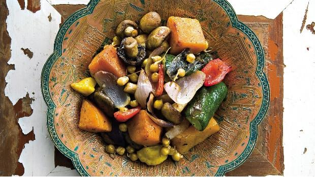 Grilovaná středozemní zelenina