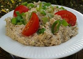 Pomazánka z uzené makrely s jarní cibulkou recept