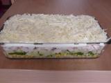Vrstvený salát recept