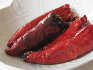 Sušené plněné papriky