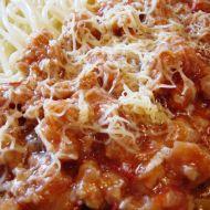 Jemně pikantní omáčka na těstoviny recept