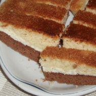 Tříbarevný koláč s tvarohem recept