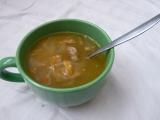 Polévka z pečených krůtích krků recept