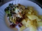 Zapékaná brokolice s anglickou slaninou recept