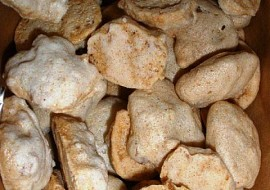 Arašídové sněhové hrudky  cukroví recept