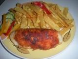 Kuřecí kapsa se sýrem a anglickou slaninou recept