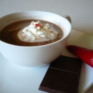 Horká pikantní čokoláda recept