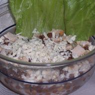 Čočkový salát s kuřecím masem recept