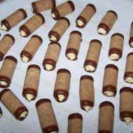 Nepečené ořechové trubičky světlé recept