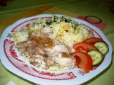 Hovězí řízky s rýži recept