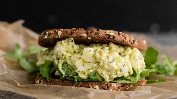 Sendvič s vajíčkovým salátem