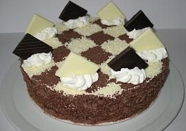 Čokoládový dort s krémem z mascarpone recept