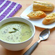 Krémová polévka ze zeleného chřestu recept