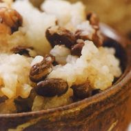 Sekihan  červená rýže recept