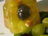 Želé bábovičky s hroznovým vínem recept