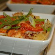 Zapékané mašličky se zeleninou recept