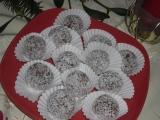Máslové kokosové kuličky recept