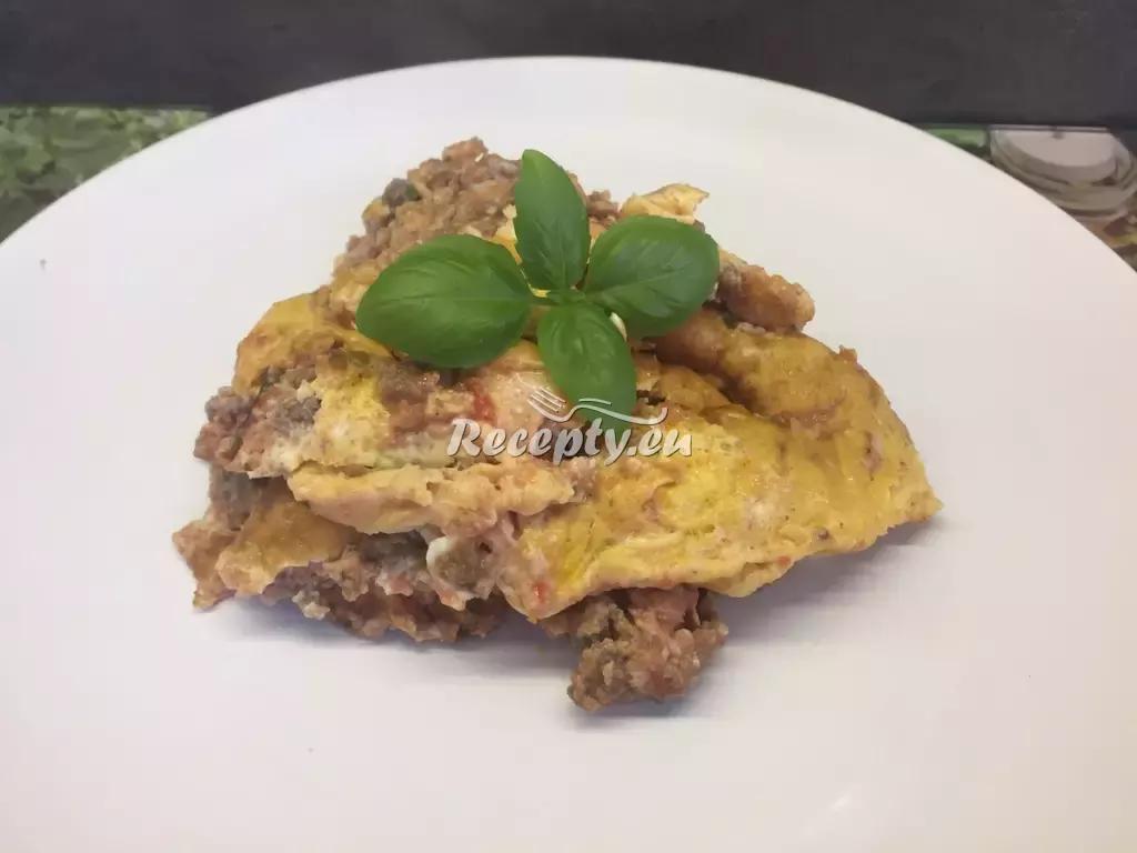 Bramborová omeleta s uzeným masem recept  předkrmy, snídaně ...