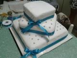 Můj první svatební dort :) recept