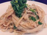 Těstoviny s omáčkou Alfredo (vegan) recept