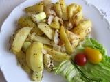Provensálské brambory s cuketou recept