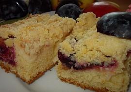 Švestkovo- jablečný koláč se třtinovou drobenkou recept ...