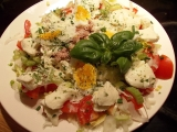 Pestrý salát s tuňákem recept