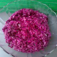 Salát z červeného zelí podle tety recept