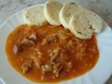 Segedínský guláš recept