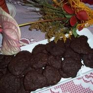 Čokoládové sušenky s kousky čokolády recept